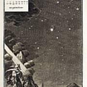 1731 Johann Scheuchzer Star Magnitudes Art Print