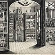 1788 Richard Greene's Museum At Lichfield Art Print