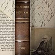 1860 Adam Sedgwick Review Of Darwin Art Print