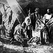 1898 Artwork Of Nativity Scene At Nativity Church Art Print