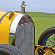 1914 Mercer Model 45 Race Car Grille Art Print