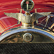 1915 Brewster-knight Model 41 Landaulet Hood Ornament 2 Art Print