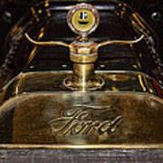1915 Model-t Ford Hood Ornament Art Print
