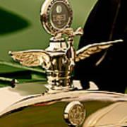 1919 Mcfarlan Type 125 Touring Motometer - Hood Ornament Art Print