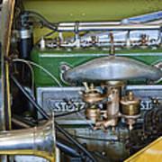 1919 Stutz Bearcat Special Engine Art Print