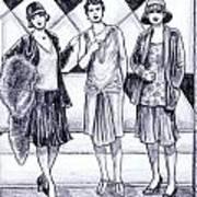 1920s Styles Art Print
