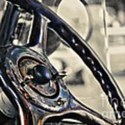 1924 Packard - Steering Wheel Art Print