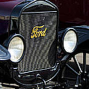 1925 Ford Model T Coupe Grille Art Print