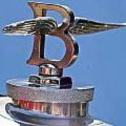 1927 Bentley 6.5 Liter Sports Tourer Hood Ornament Art Print