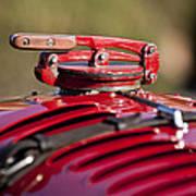 1929 Birkin Blower Bentley Hood Ornament Art Print