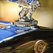 1929 Gardner Series 120 Eight-in-line Roadster Hood Ornament Art Print