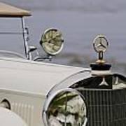1929 Mercedes-benz S Tourer Hood Ornament Art Print