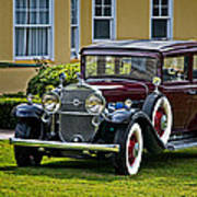 1931 Cadillac V12 Art Print