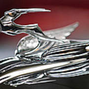 1931 Chrysler Cg Imperial Roadster Hood Ornament Art Print