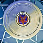 1931 Stutz Dv-32 Convertible Sedan Wheel Emblem Art Print