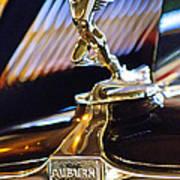 1932 Auburn V-12 Speedster Hood Ornament Art Print