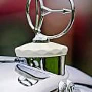 1932 Austro Daimler Hood Ornament Art Print