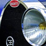 1932 Bugatti Type 55 Cabriolet Grille Emblem Art Print