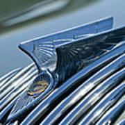 1934 Chrysler Airflow Hood Ornament 4 Art Print