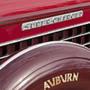 1935 Auburn Emblem Art Print