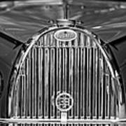 1935 Bugatti Type 57 Roadster Grille 2 Art Print