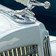1935 Packard Sedan Hood Ornament Art Print