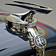 1935 Reo Speedwagon Pickup Hood Ornament Art Print