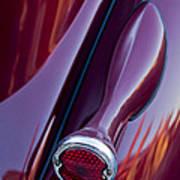 1936 Ford Phaeton Taillight Art Print