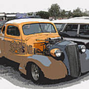 1937 Chevy Coupe Art Print by Steve McKinzie