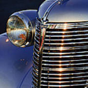 1938 Chevrolet Grille Art Print