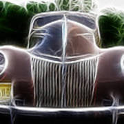 1939 Ford Deluxe Art Print