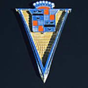 1940 Cadillac Emblem Art Print
