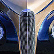 1940 Cadillac Lasalle Convertible Grille Art Print