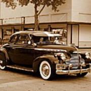1940 Chevrolet Special Deluxe - Sepia Art Print