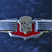 1941 Cadillac Emblem Art Print