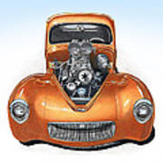 1941 Willys Hotrod Art Print