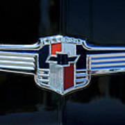 1942 Chevrolet Emblem Art Print