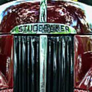 1947 Studebaker Grill Art Print