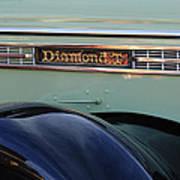 1948 Diamond T Truck Emblem 2 Art Print