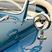 1948 Lloyd Templeton Mercury Saturn Bob Hope Roadster Art Print