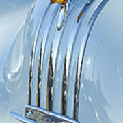 1948 Pontiac Hood Ornament 3 Art Print