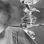 1948 Rolls-royce Hood Ornament 2 Art Print