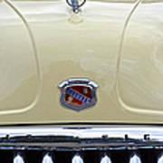 1949 Buick Super 8 Grill  Art Print