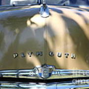 1949 Plymouth Delux Sedan . 5d16206 Art Print