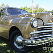 1949 Plymouth Delux Sedan . 5d16207 Art Print