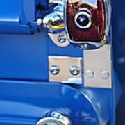 1950 Chevrolet 3100 Pickup Truck Taillight Art Print