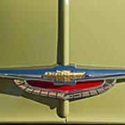 1950 Chevrolet Fleetline Emblem Art Print