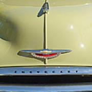 1950 Chevrolet Fleetline Grille 2 Art Print