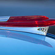 1950 Chevrolet Hood Ornament 5 Art Print