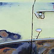 1950 Ford Crestliner Door Handle Art Print